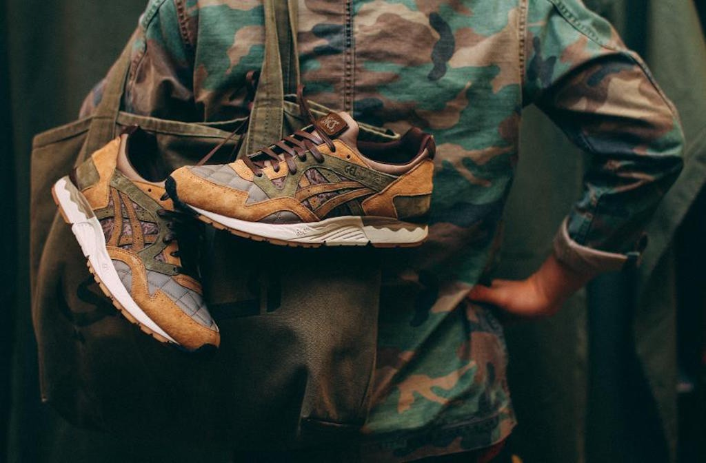 Sneakersucht: KICKS LAB X ASICS GEL-LYTE V 'PHYS ED'