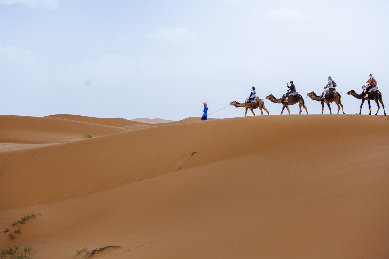 Das Gefühl von Unendlichkeit, die Wüste und keine Deadlines